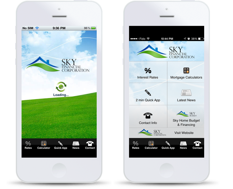 Sky Financial Mobile Apps